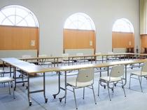 【多目的ホール】スペースがありますので軽スポーツやパーティーも対応可能