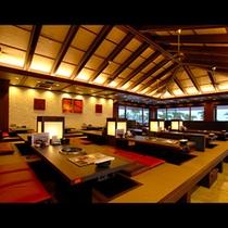 ★石垣牛焼肉&ダイニング「琉華」 座席数224席の開放感がある店内。