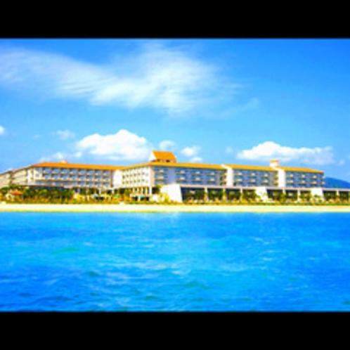 ★海上からのホテル風景