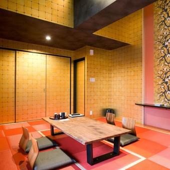 【VIP】金閣room/部屋風呂付/8名利用可能
