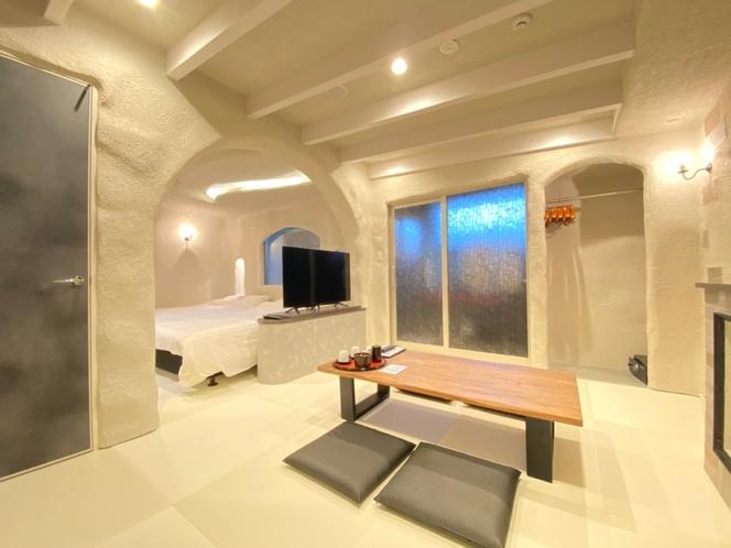 洞窟の部屋