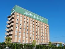 ~ルートイン大館駅南~ JR大館駅から徒歩7分、秋田道大館北ICから車で5分!緑の看板が目印です!