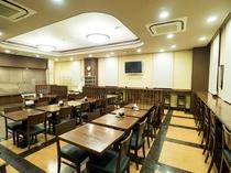 ■1階レストラン■ 柔らかい照明でゆったり落ち着いた雰囲気です。温かなサービスでおもてなし致します。