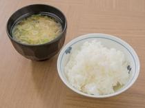 【朝食バイキング無料】秋田といえばおいしいお米!! 当館では県産のあきたこまちを使用しています。