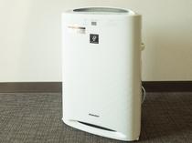 全客室に加湿機能付空気清浄機を設置。乾燥や臭い対策もばっちりです!