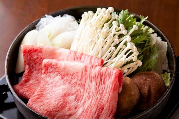 特選とちぎ和牛すき焼きプラン 夕食はお部屋で 【部屋食】