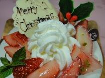 ル・シェーブルフィユクリスマスケーキアップ