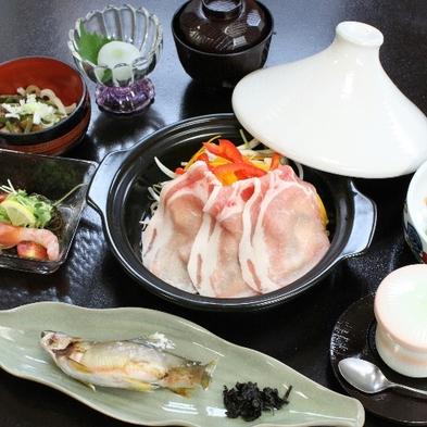 (朝&夕お部屋食)ヘルシー★【上州麦豚タジン蒸し】旬菜たっぷり夕食はお部屋でゆっくりと♪