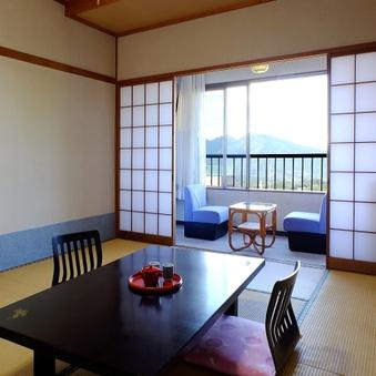 【北側★和室10畳】絶景眺望で一番人気のお部屋♪【禁煙】