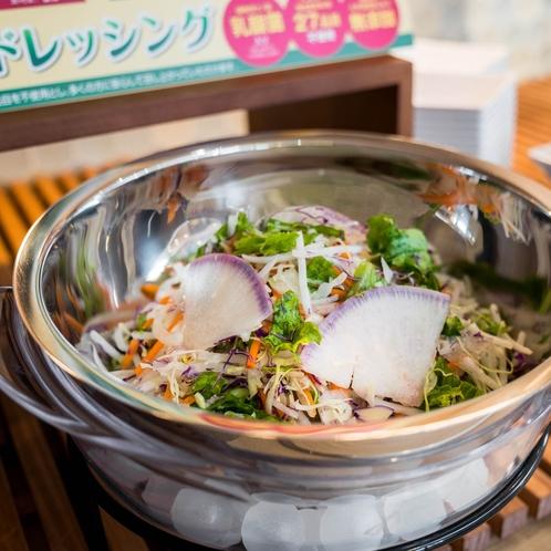 【LOHAS朝食・有機JAS認定野菜サラダ】