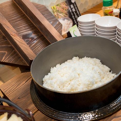 【LOHAS朝食・こしひかり】