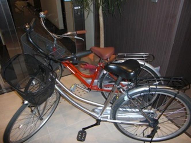 貸出備品:自転車