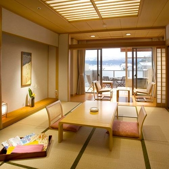プライベートな露天風呂付 【和室または和洋室】