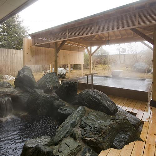 大浴場 岩の露天風呂