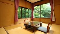 ■【客室一例】落ち着きのある和室をご用意しております。