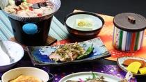 湯治プラン全体_福島県ならではの地元のお料理を楽しむ。