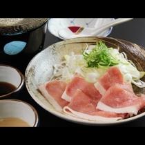■【ご夕食一例】ネギしゃぶ