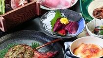 山賊プラン_鳳坂峠に伝わる伝統なお料理。天栄湯独自のアレンジを加えてます!