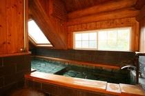 10名用コテージ 内風呂