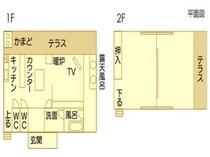 古民家Ⅱ平面図