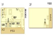 古民家Ⅰ平面図