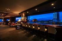 利根川を眼下に見下ろすスカイレストラン「天津楼 菜々久」