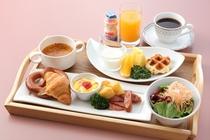 プレミアム洋朝食(定食タイプ、1,800円税込)※要予約