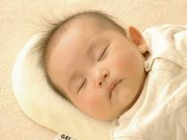 赤ちゃん用のまくらもご用意しております♪タオル等もお部屋へお持ち致します!