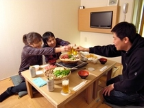 【語らう】仲間とのお食事会や、ご宴会などにもご利用頂けます。