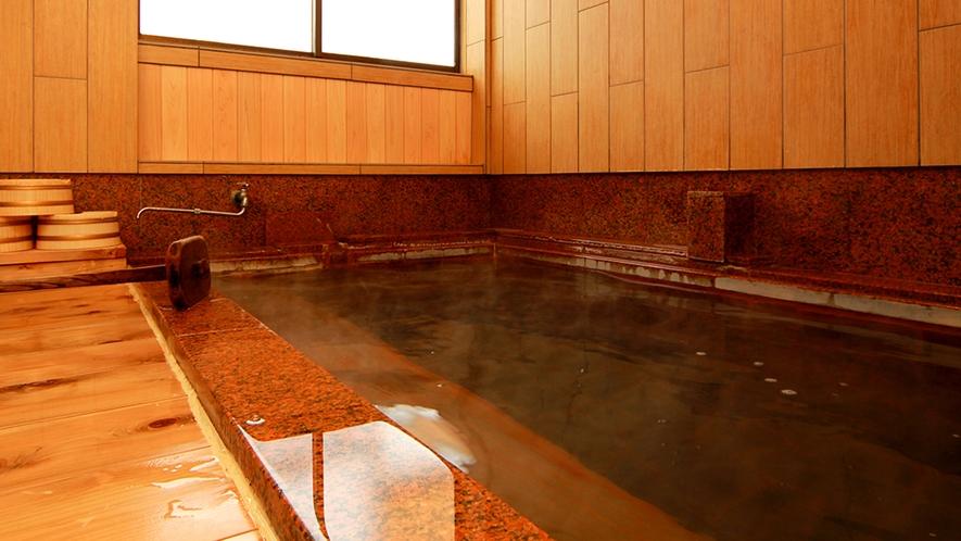 温泉 当館の温泉は24時間入浴可能です