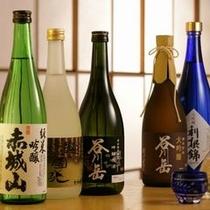 【日本酒】 群馬と新潟の地酒を多数取り揃えております。