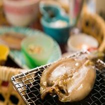 ■ご朝食■朝食のお供に、「鮎の一夜干し」をご賞味ください。