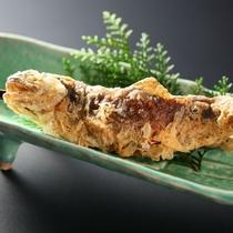 名物 岩魚の唐揚げ