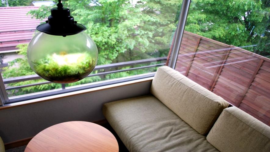 ■やすらぎ和室(10畳/3,5,6階)■谷川温泉の山並み堪能