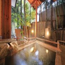 ■源泉かけ流し露天風呂付き客室(3階)