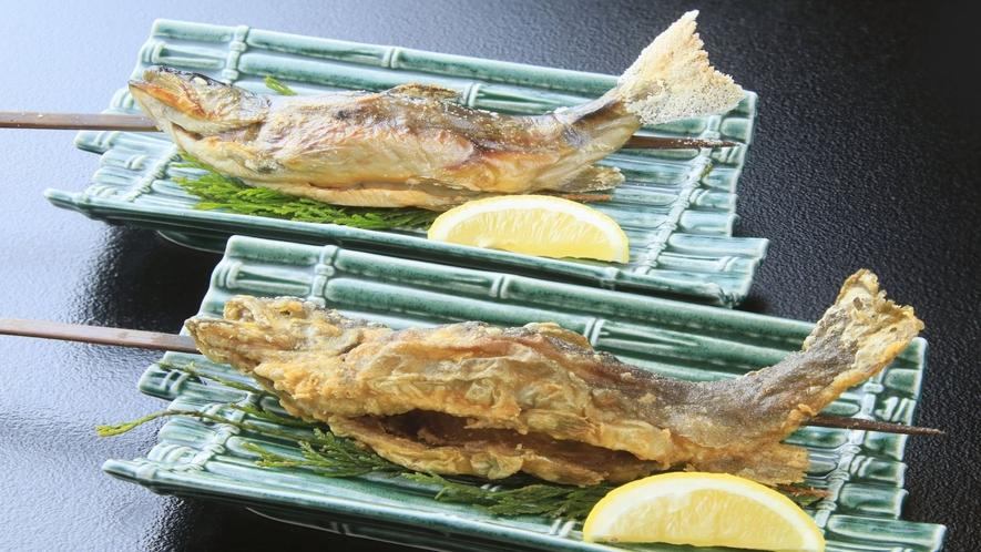 ■岩魚唐揚げま・塩焼き■(お選びください。)