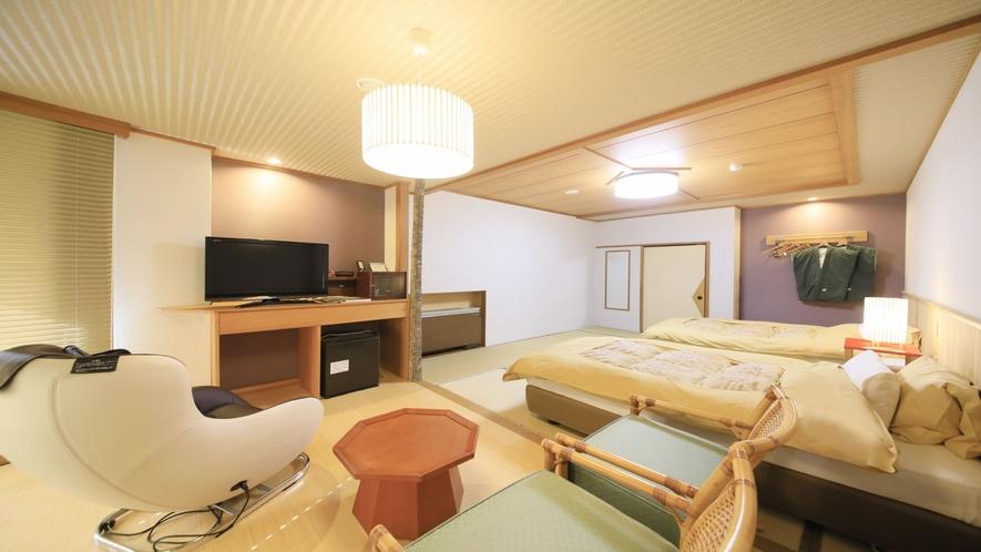 ■和室ツイン客室(10畳/3階)■〜マッサージチェア付〜