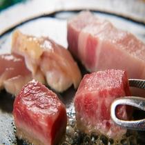 ■上州牛・上州麦豚・赤城鶏石焼きステーキ■