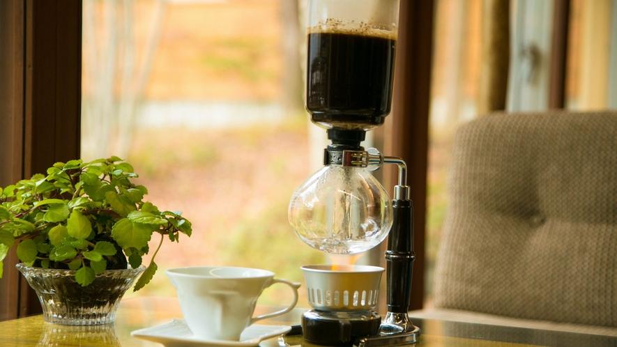 ■食後のコーヒー■(ご夕食会場にご用意致します。)