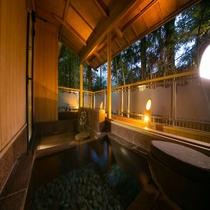 ■源泉かけ流し露天風呂付き客室(5,6階)