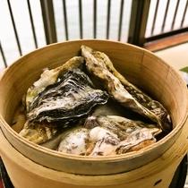 料理イメージ(広島牡蠣の蒸籠蒸し)