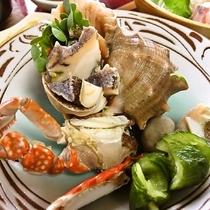 料理イメージ(地物のニシ貝)
