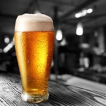 当館の生ビールはプレミアムモルツ!!