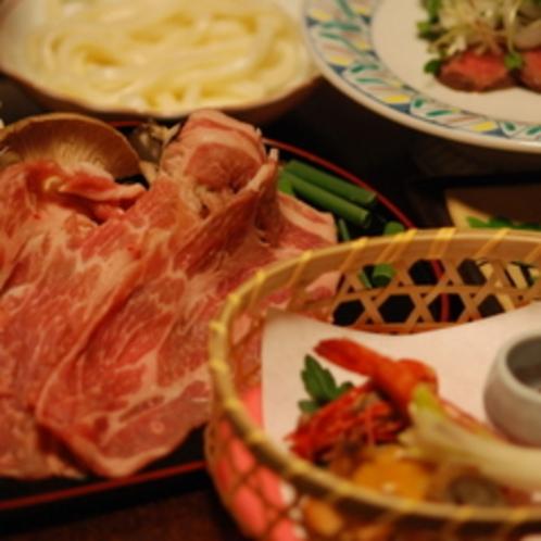 夕食■榛名御膳■旅館ふくぜんのスタンダードなお料理です。