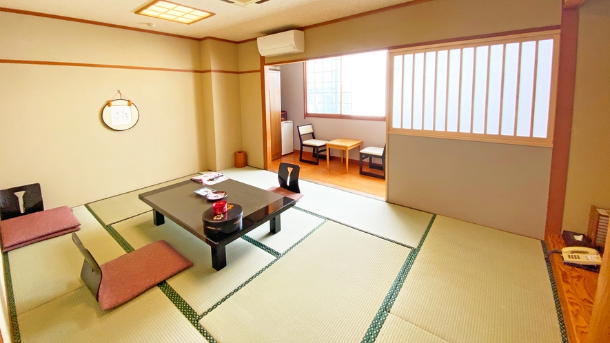 【ワークスペース付き和室☆フリーWi-Fi完備】温泉旅館+新しい仕事スタイル
