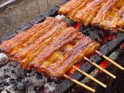 【秋冬旅セール】高級魚 「 国産鰻と紀伊山地の山菜 」 特選コース