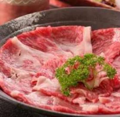 A4ランク奈良熊野牛・採れたて地野菜すき焼き会席フルコース