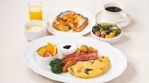 朝食・洋食プレート(フレンチトースト)