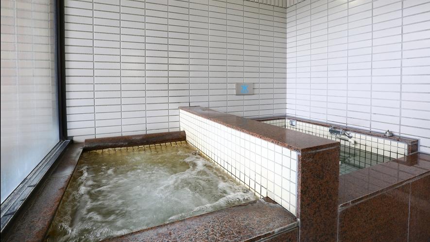 【男性大浴場】ジャグジーと水風呂