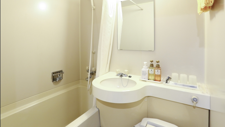 【客室】全室バス・洗浄機付きトイレ付き